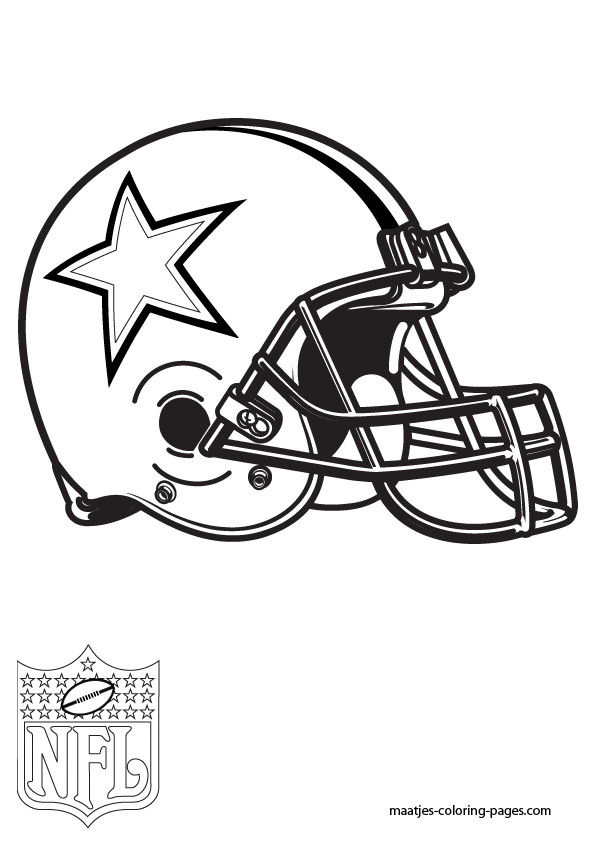 Coloriage et dessins gratuits NFL 15 à imprimer