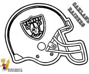 Coloriage et dessins gratuit NFL 16 à imprimer