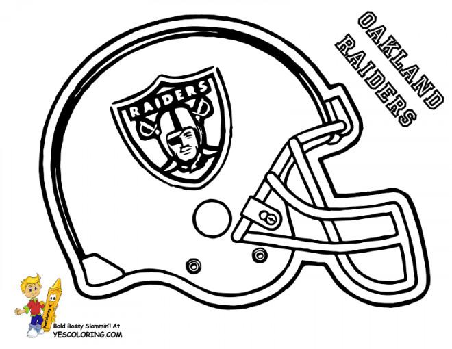 Coloriage et dessins gratuits NFL 16 à imprimer