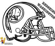 Coloriage et dessins gratuit NFL 17 à imprimer