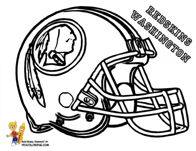 Coloriage et dessins gratuits NFL 17 à imprimer