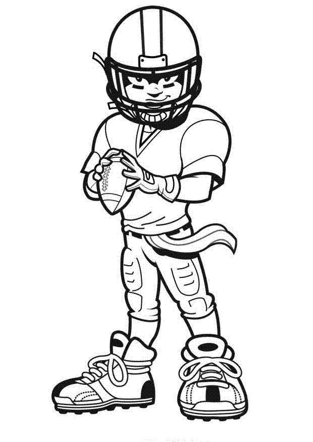 Coloriage et dessins gratuits NFL 18 à imprimer