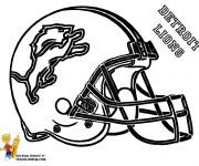 Coloriage et dessins gratuit NFL 2 à imprimer