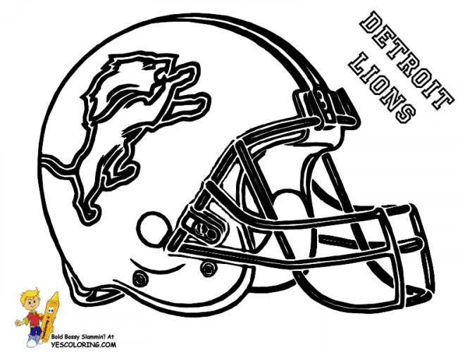 Coloriage et dessins gratuits NFL 2 à imprimer