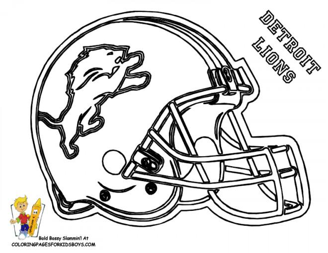 Coloriage et dessins gratuits NFL 20 à imprimer