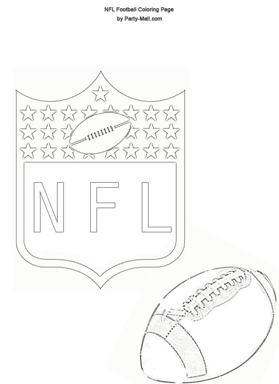 Coloriage et dessins gratuits NFL 21 à imprimer