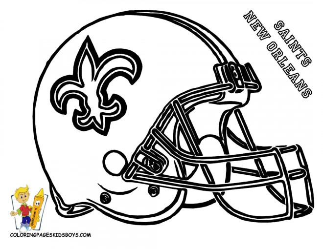 Coloriage et dessins gratuits NFL 22 à imprimer