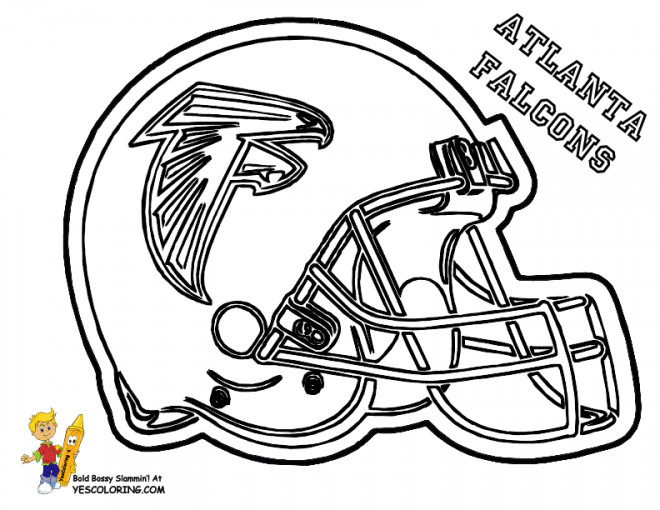 Coloriage et dessins gratuits NFL 25 à imprimer