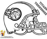 Coloriage et dessins gratuit NFL 4 à imprimer