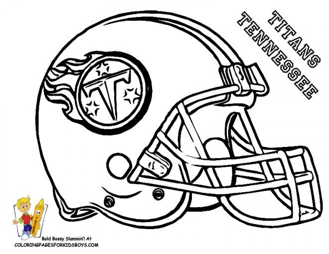 Coloriage et dessins gratuits NFL 4 à imprimer