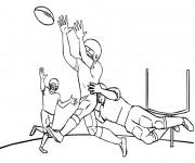 Coloriage et dessins gratuit NFL 5 à imprimer