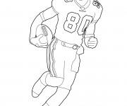 Coloriage et dessins gratuit NFL 6 à imprimer