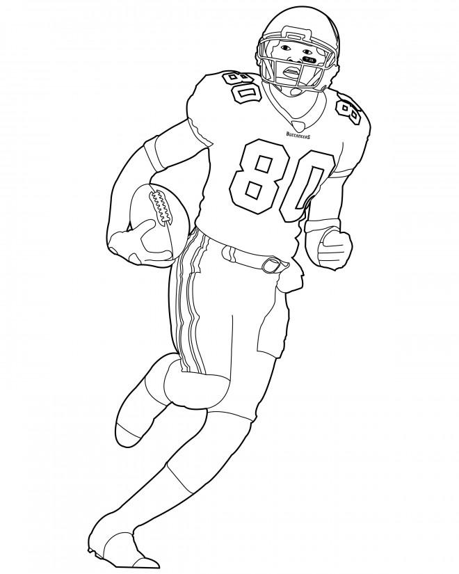 Coloriage et dessins gratuits NFL 6 à imprimer