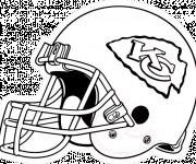 Coloriage et dessins gratuit NFL 7 à imprimer