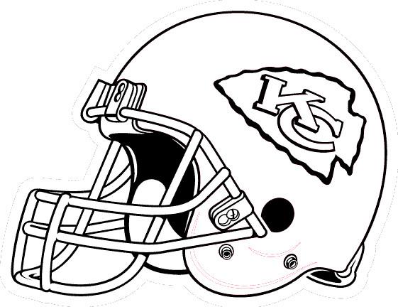 Coloriage et dessins gratuits NFL 7 à imprimer