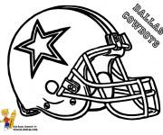 Coloriage et dessins gratuit NFL 8 à imprimer