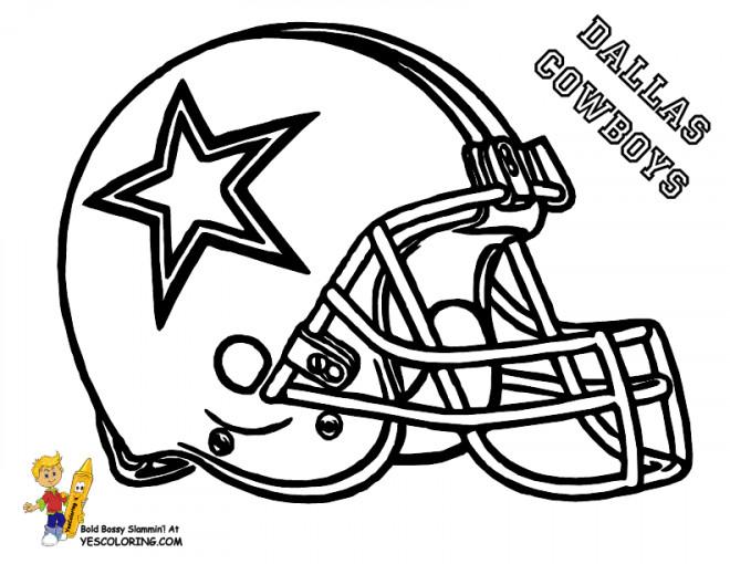 Coloriage et dessins gratuits NFL 8 à imprimer