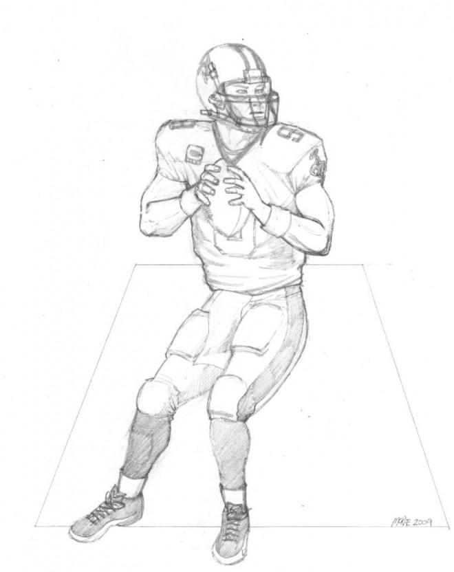 Coloriage et dessins gratuits NFL 9 à imprimer