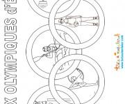 Coloriage et dessins gratuit Jeux Olympique d'été à imprimer