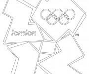 Coloriage et dessins gratuit Jeux Olympiques London à imprimer