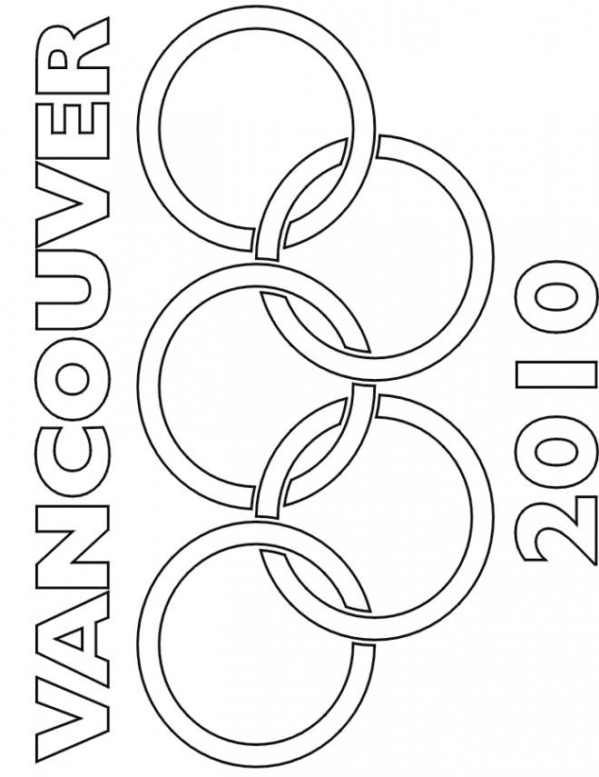 Coloriage et dessins gratuits Jeux Olympiques Vancouver à imprimer