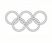 Coloriage dessin  Olympique 15