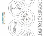 Coloriage dessin  Olympique 17