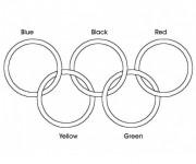 Coloriage dessin  Olympique 18
