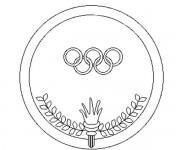 Coloriage dessin  Olympique 20