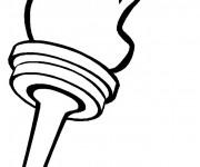 Coloriage dessin  Olympique 5