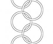 Coloriage dessin  Olympique 7