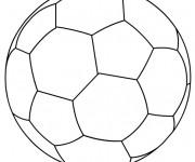 Coloriage Le Ballon stylisé