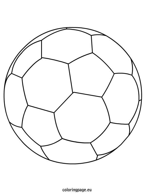 Coloriage et dessins gratuits Le Ballon stylisé à imprimer