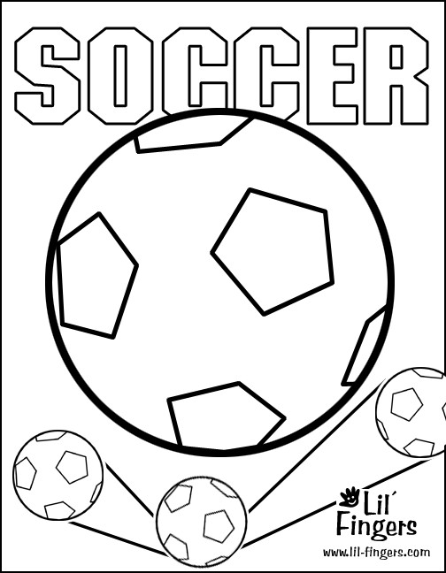 Coloriage et dessins gratuits Soccer et Ballon à imprimer