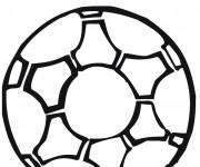 Coloriage Soccer Étoiles