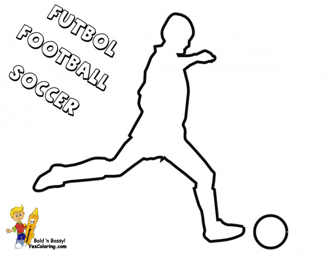 Coloriage et dessins gratuits Soccer joueur à compléter à imprimer