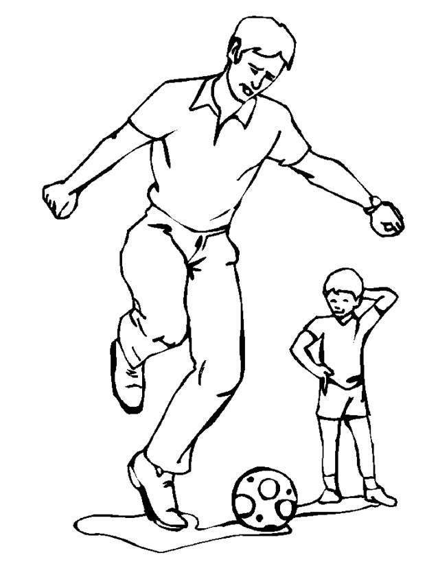 Coloriage et dessins gratuits Soccer populaire à imprimer