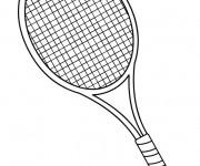 Coloriage dessin  Badminton 46
