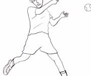 Coloriage Tennis 16