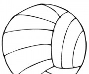 Coloriage dessin  Volleyball 9
