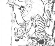Coloriage Astérix et Obélix à télécharger