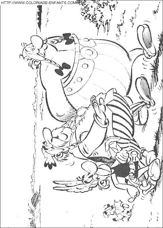 Coloriage Asterix Et Obelix A Telecharger
