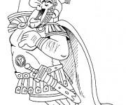 Coloriage Le César arrogant