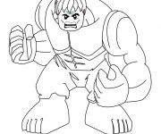 Coloriage dessin  Avengers Hulk 10