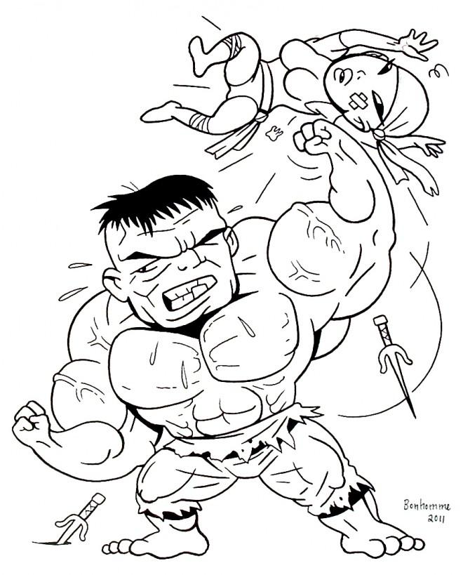 Coloriage avengers hulk 23 dessin gratuit imprimer - Telecharger hulk ...