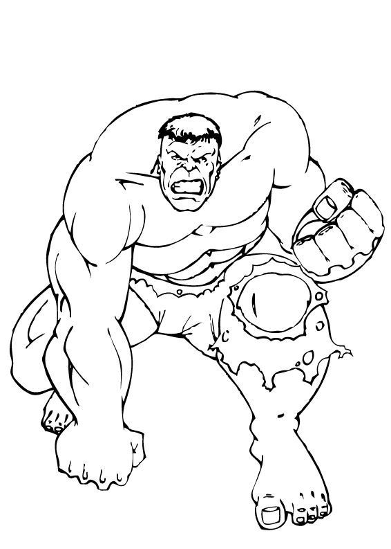 Coloriage avengers hulk en col re dessin gratuit imprimer - Hulk a imprimer ...