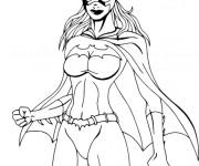 Coloriage dessin  Batgirl 10