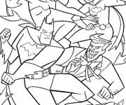 Coloriage dessin  Batgirl 11
