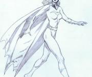 Coloriage dessin  Batgirl 13