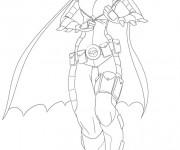 Coloriage Batgirl à colorier
